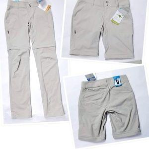Columbia Ladies Utility Pants Shorts New!